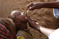 Polio Vaccination Campaign in Darfur